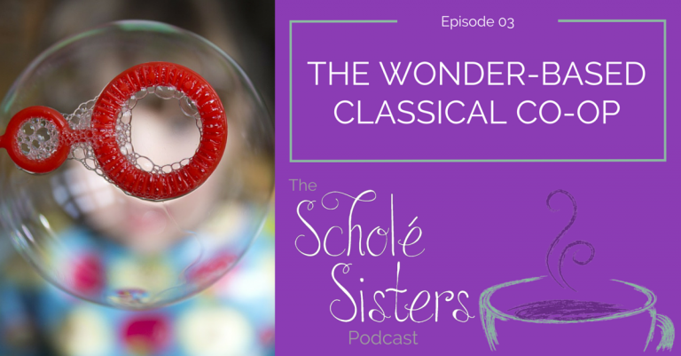 SS #03: The Wonder-Based Classical Co-op