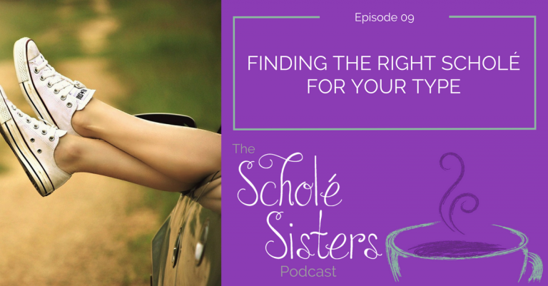 SS #09: Finding the Right Scholé for Your Type
