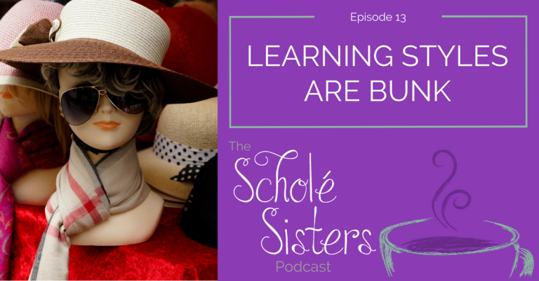 SS #13: Learning Styles Are Bunk