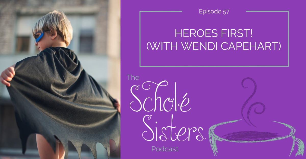 SS #57: Heroes First! (with Wendi Capehart)