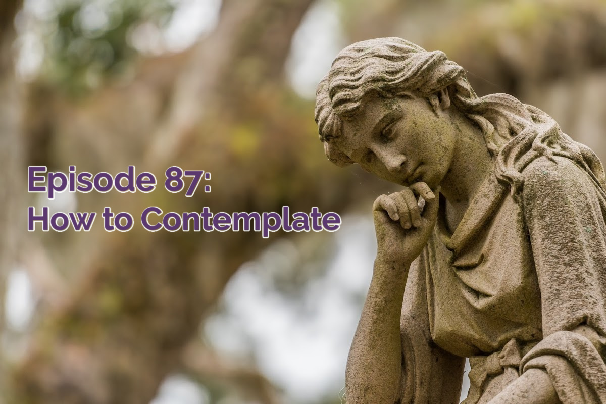 SS#87: How to Contemplate (The Thinking Mom's Checklist)